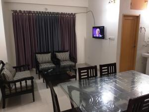 Occupied: 1350 Sft. (3 Bed Room) Fully furnished Service Apartment for rent at Uttara, sector-4, Dhaka-1230, Bangladesh.